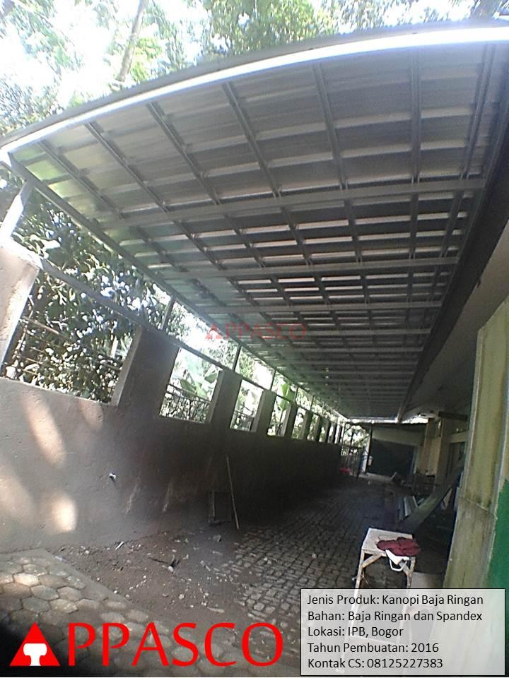 Kanopi Baja Ringan di IPB Bogor