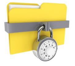 Mengunci file penting dengan folder lock