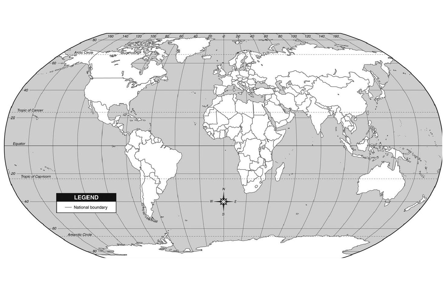 Online Maps Blank Map Of The Continents
