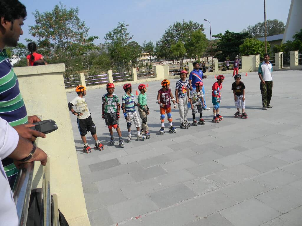 Roller shoes in hyderabad - Open Roller Skating Competition Images 2013