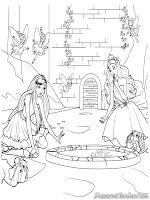 Gambar Barbie And The Diamond Castle Untuk Diwarnai Mewarnai Gambar