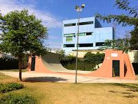 Pista de skate no Parque Santos Dumont