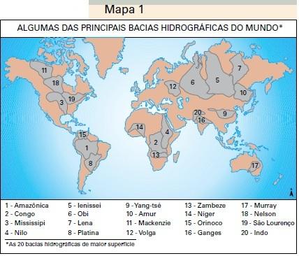 rios do mundo mapa Geografar: Uma geopolítica da dependência hídrica. rios do mundo mapa