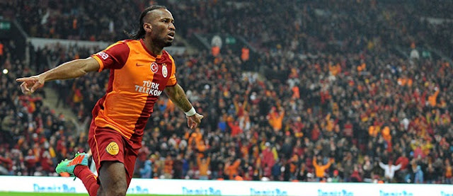 Didier Drogba bir kez daha Arena'da!