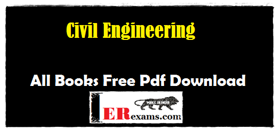 Civil Engineering All Books  Free Pdf Download