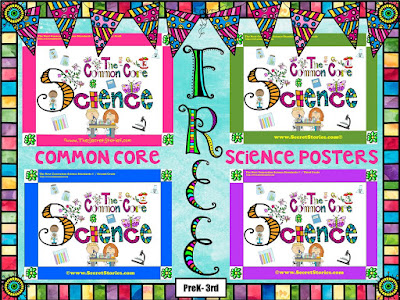 FREE Secret Stories® Common Core Science Posters for PK-3rd Grade