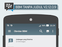 BBM Tanpa Judul V2.12.0.9 Apk Terbaru
