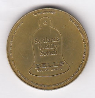 Bell's Scotch Whisky token from a Scottish Open Golf tournament