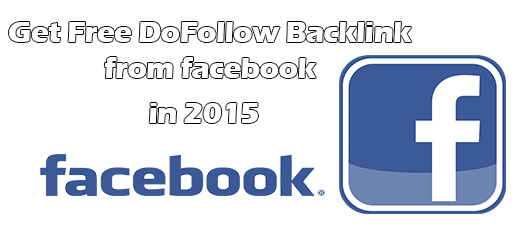 Get DoFollow Backlink PR9 From Facebook Free