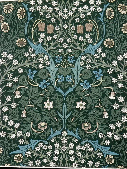 The Red House: William Morris' Wallpaper Design