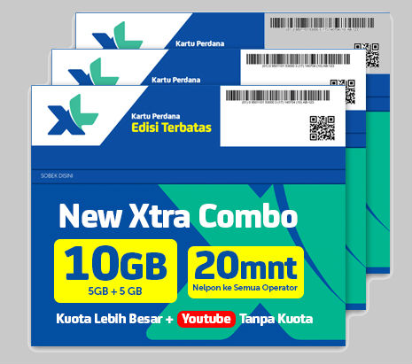 Paket Xtra Combo Baru XL, Harga dan Cara Daftar