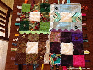 For those who asked: My Healing Hearts and Hands Fidget Quilts that are available for purchase will be listed here:  Healing Hearts and Hands Fidget Quilts for Sale