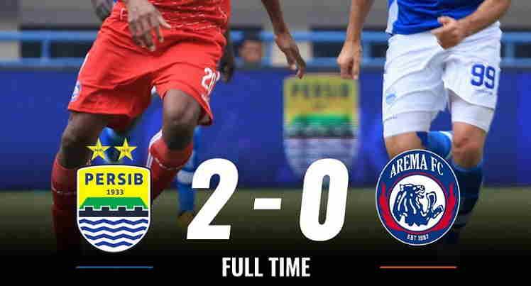 Hasil Persib Bandung vs Arema FC Skor Akhir 2-0 | Liga 1 Pekan 21