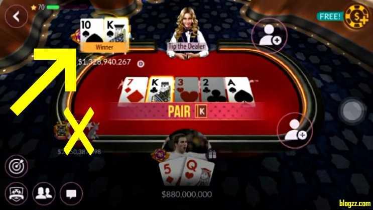 Zynga Poker, Facebook üzerinden oynayanlara daha fazla puan kazandırıyor.