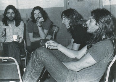 Pink Floyd 1972 picture image photo groupe
