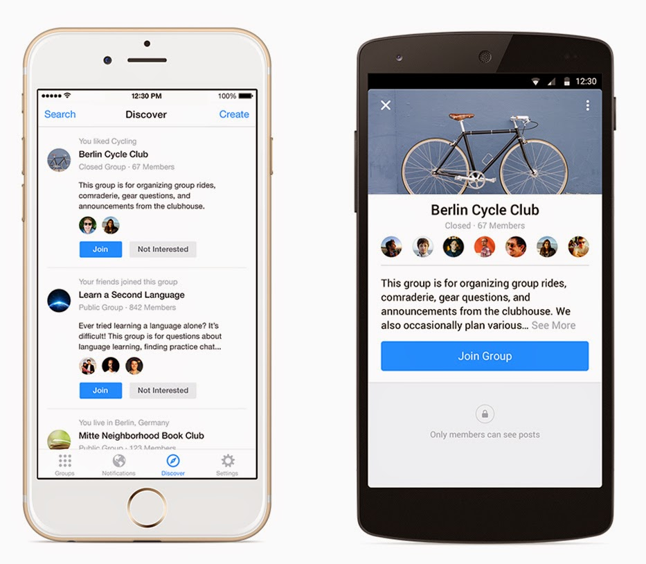 Facebook Introduces Groups App For iOS And Android
