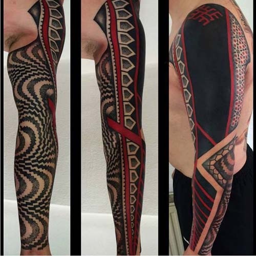 maori tribal dövmeler tattoos 29