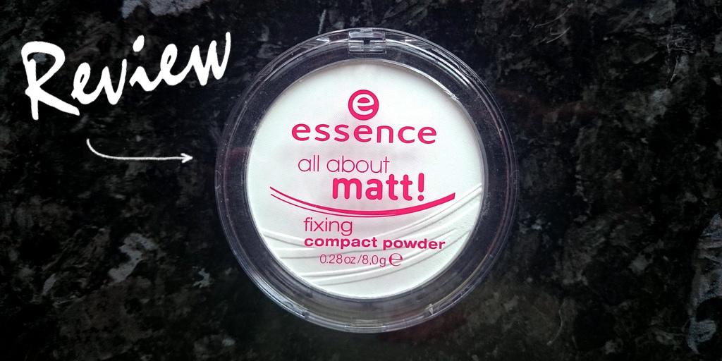 Review polvos compactos all about matt Essence