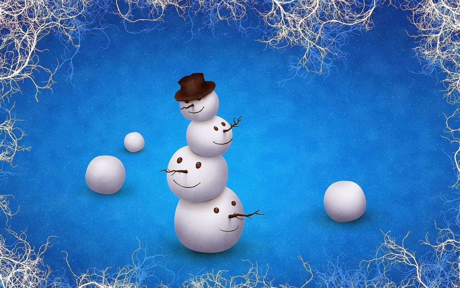 Free Christmas Wallpapers Downloads Best Hd Desktop: Ravishment: Merry Christmas Snowman Greetings And