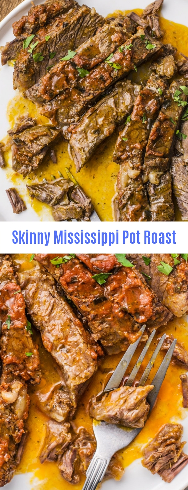 Skinny Mississippi Pot Roast