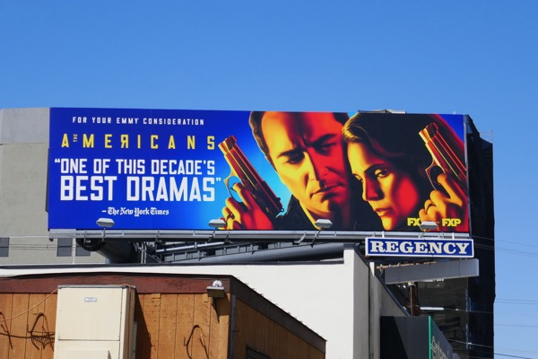 Americans final season 6 Emmy FYC billboard