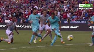 HT: Barcelona vs Manchester United 1-0 ICC 2017 Amerika Serikat