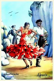 Trajes y bailes típicos de Andalucía - Alberto Iraola - 06