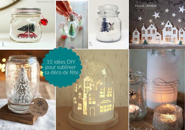 14 idées DIY de décorations de fêtes de fin d'années