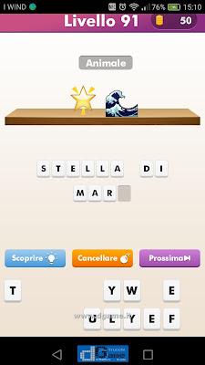 Emoji Quiz soluzione livello 91