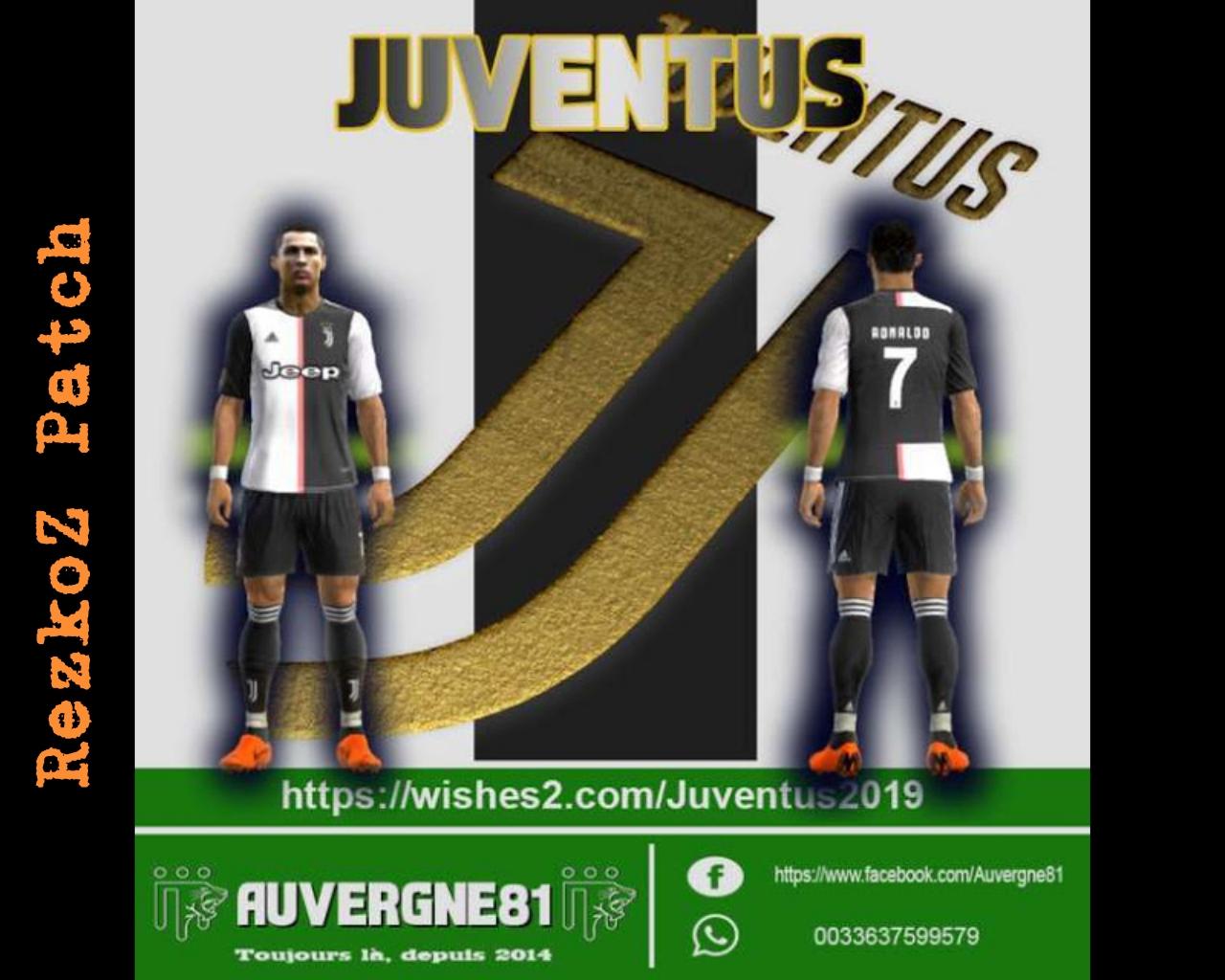 brand new 262f2 7d108 PES 2013 New Kits Juventus Season 2019-2020