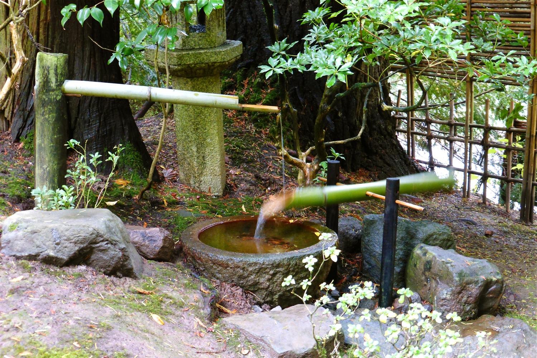 water basin Portland Japanese Garden