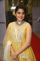 Nivetha Thamos in bright yellow dress at Ninnu Kori pre release function ~  Exclusive (36).JPG