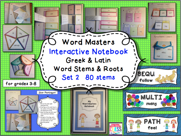 Mrs. Renz' Class: New! More Greek & Latin Word Stems & Roots