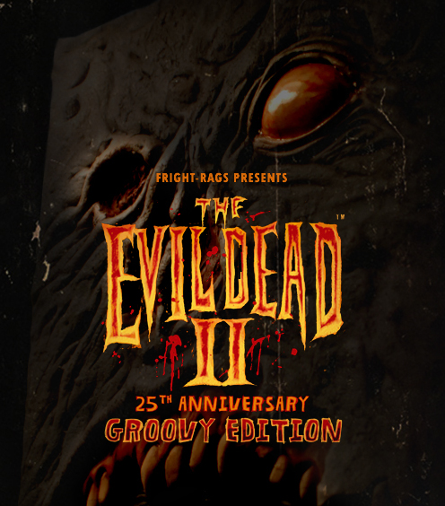 Fright Rags: Evil Dead 2 Commemorative shirt will swallow