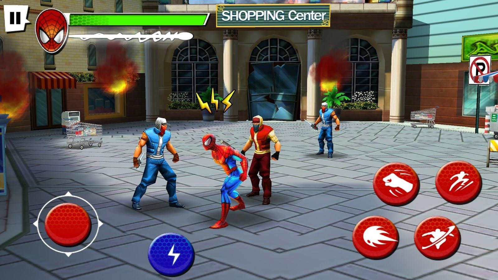 Spider-Man Total Mayhem HD APK v1.0.8 2