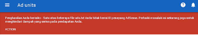 Cara Mengatasi Publisher ID missing from ads.txt files
