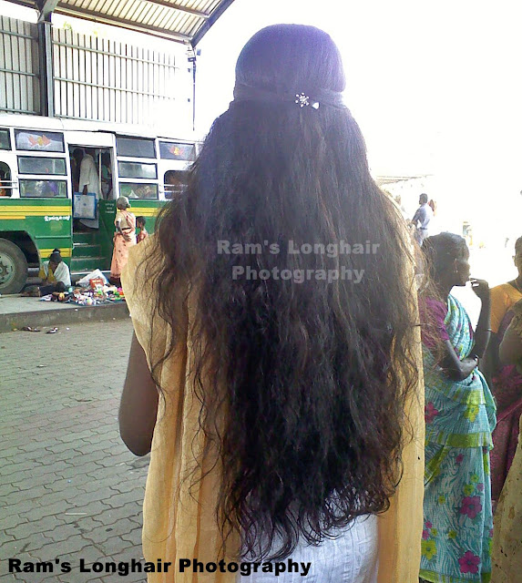 Kerala Hairstyles For Girls: Indian Long Hair Girls: Kerala And Tamil Nadu Homely Girls