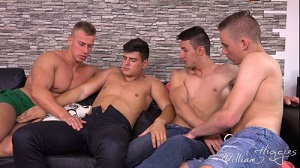 Bradley Cook, Filip Vacek, Honza Onus and Bened Faust – Wank Party 2016 #07, Part 1 RAW