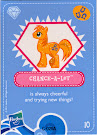 My Little Pony Wave 4 Chance-A-Lot Blind Bag Card