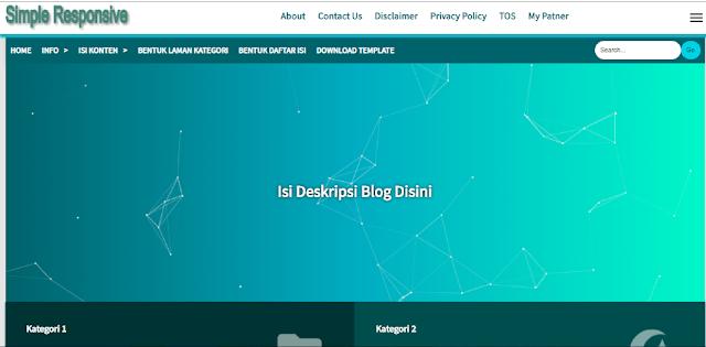 Cara Membuat Tampilan Home Page Seperti Milik Blog KodeJarwo