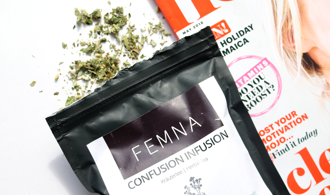 Healthy Living: Femna Confusion Infusion Herbal Tea for PMS/Mood Swings review