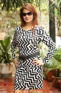 Actress Saloni Latest Pos in Short Dress  0187.JPG
