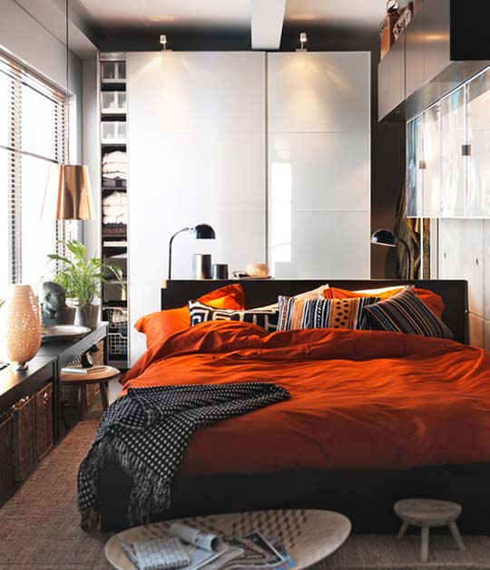 Bedroom Ideas Ikea: Home Furniture Ideas: IKEA Interior Design Ideas For Small