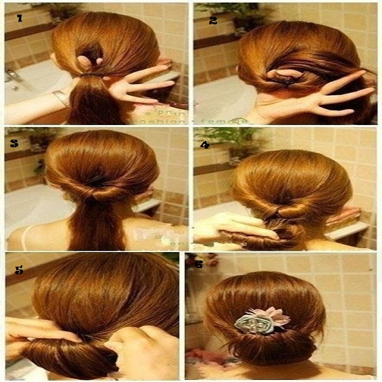 Best Quick And Simple Hairstyle Pics Tutorial Pak Fashion