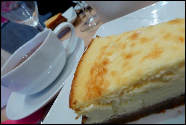 Cheesecake La Cour Salon de Thé Versailles