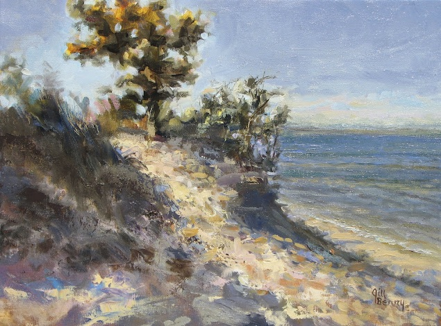 One Note Of Correction To The Pleinair Article Bluffs Sold Years Ago Through Merrill Millers Interiors Thus Is No Longer In Artist S Collection