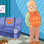G4K Cute Grandfather Rescue Game