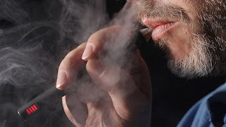 Through the electronic smoke inhaled drugs could eliminate pain killer