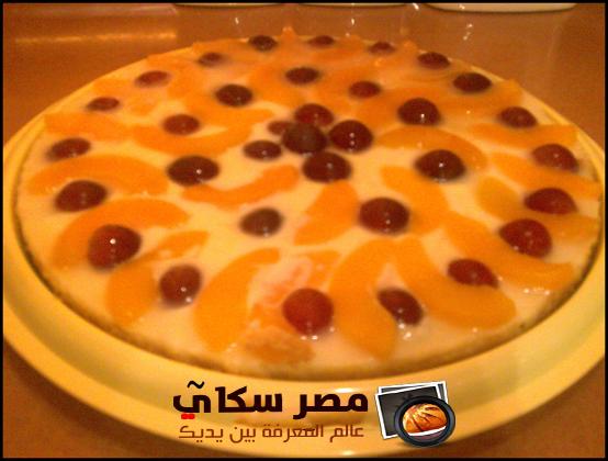 خطوات وطريقة عمل حلوى الخوخ
