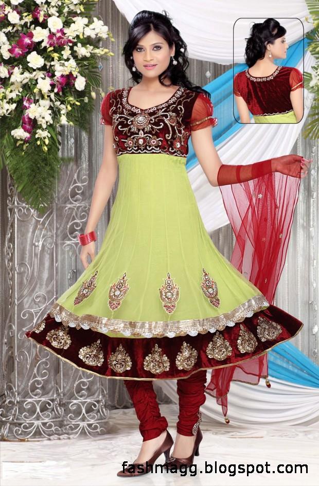 Fashion Amp Style Anarkali Fancy Frocks Indian Pakistani